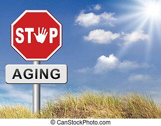 fermata, invecchiamento