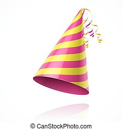 festa, cappello compleanno