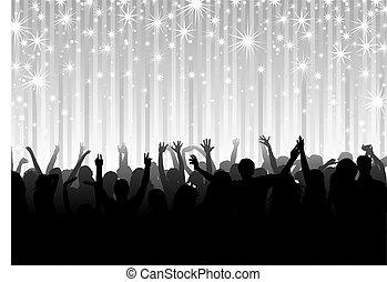 festa, folla