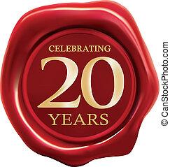 festeggiare, 20 anni