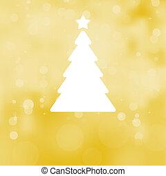 festivo, albero, eps, fondo., 8, natale