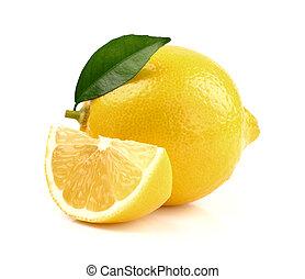 fetta, limone, succoso