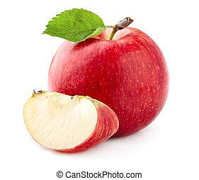 fetta, mela