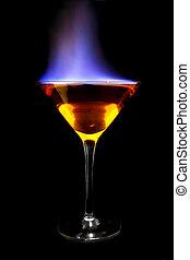 fiammeggiante, cocktail