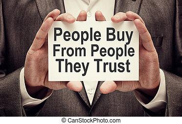 fiducia, essi, comprare, persone