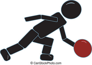 figura bastone, bowling