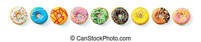 fila, vario, donuts, colorito