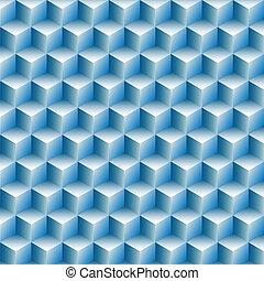 file, cubi, astratto, ottico, fondo, illusione
