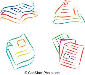 file, documento