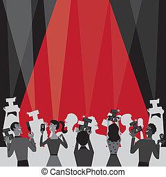 film, hollywood, invitare, premio, festa
