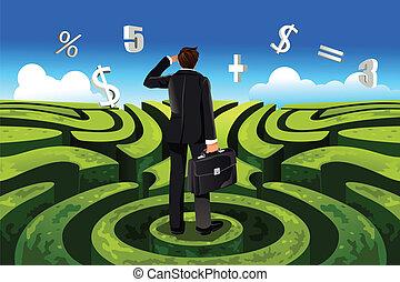 finanza, affari