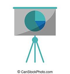 finanza, presentazione, asse, affari, grafico
