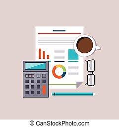 finanziario, concept., budget, pianificazione, analysis., contabilità, mercato, casato