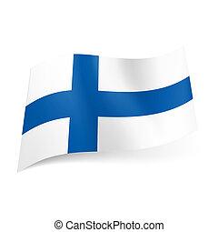 finland., bandiera, stato