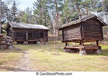 finlandese, villaggio