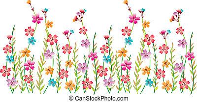 fiore, bordo, capriccio