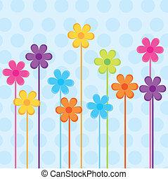 fiori, vettore