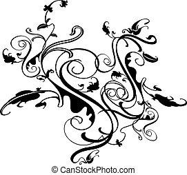 fiorire, disegno