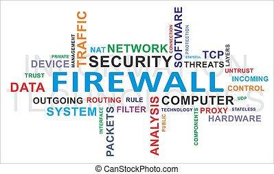 firewall, parola, -, nuvola