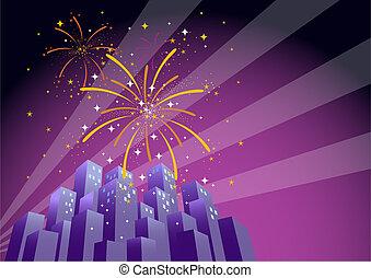 fireworks, 2