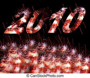fireworks, 2010, anno