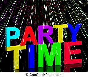 fireworks, parola, esposizione, discoteche, clubbing, nightlife, tempo, festa, o