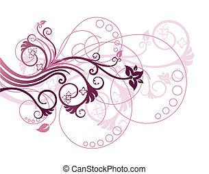 floreale 1, disegnare elemento