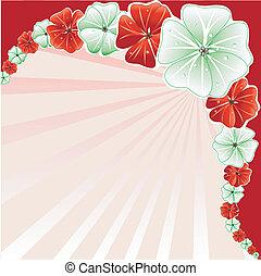 floreale 3, natale, fondo