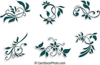 floreale, decorazioni