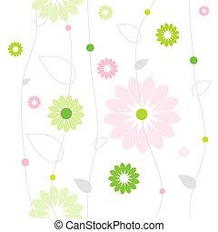 floreale, fondo