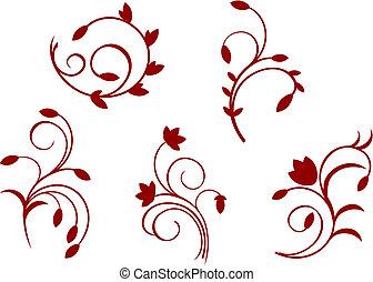 floreale, semplicità, decorazioni