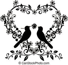 flourishes, 2, amare uccelli