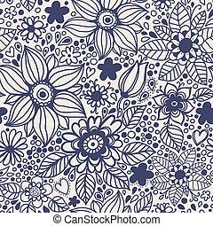 flowers., seamless, struttura