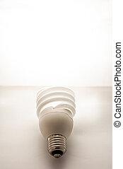 fluorescente, lampada, illuminazione