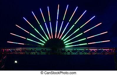 fluorescente, lampadine