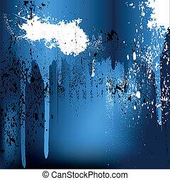 flusso, schizzi, vernice
