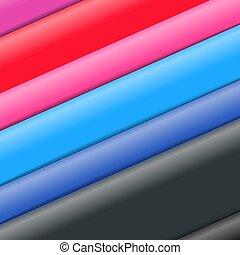 fogli, colorare, astratto, fondo, carta