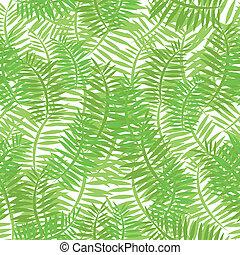 foglie, verde, seamless, fondo