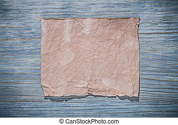 foglio, legno, vendemmia, cartone, vuoto