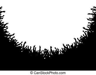 folla, anfiteatro