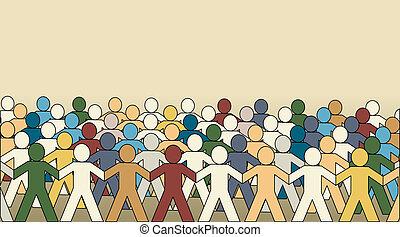 folla, paperchain