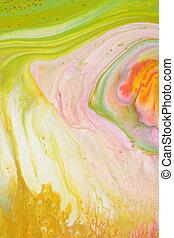 fondo., astratto, marmo, acrilico, colors., texture.
