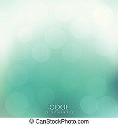 fondo., astratto, verde, bokeh