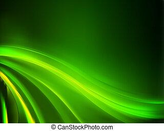 fondo., astratto, verde, eps, 8