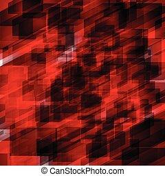 fondo, astratto, vettore, rosso, illustrazione