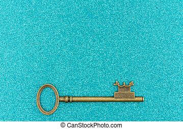 fondo, chiavi, alzavola, scheletro, scintilla