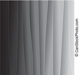 fondo, graphic., bianco sporco, uno, carta, consiste, fine, &, -, altro, nero, bianco, astratto, molto, fogli, grafico, questo, luce, grigio, vettore, toni, o, fondale