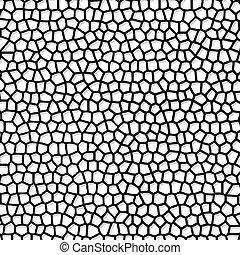 fondo, mosaico, vettore, astratto