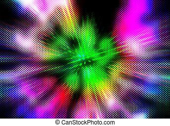 fondo, multicolor