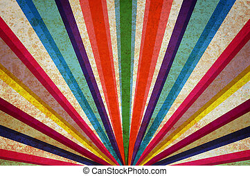fondo., multicolor, grunge, raggi sole